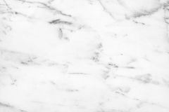 White Carrara Marble natural light surface for bathroom or kitch Stock Photography