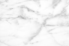 White Carrara Marble natural light surface for bathroom or kitch Stock Photos