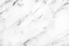 White Carrara Marble natural light surface for bathroom or kitch Stock Image