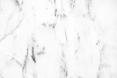White Carrara Marble natural light surface for bathroom or kitch Royalty Free Stock Photo