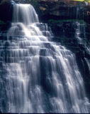 White Cascade waterfall Royalty Free Stock Image