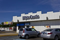 White Castle Hamburger Location II Royalty Free Stock Photos