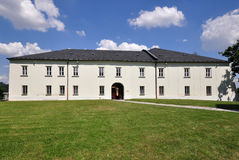 White castle Hradec nad Moravici Stock Images