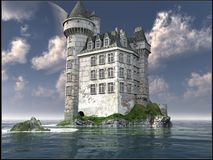 White Castle Stock Image