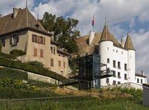 White Castle Nyon Royalty Free Stock Photography