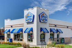 White Castle Restaurant Royalty Free Stock Photography