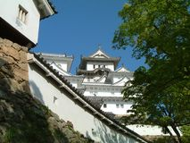 White Castle Wall. White Castle of Himeji, Japan Stock Photography