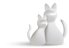 White cats Stock Photo