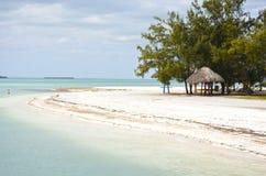White Cay. Next to Varadero, Cuba stock photography