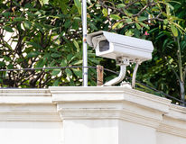 White CCTV Stock Photos