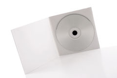 White CD Package Royalty Free Stock Photos