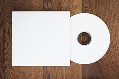 White CD Royalty Free Stock Images