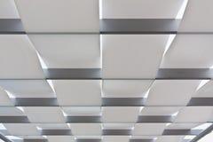 The white ceiling Royalty Free Stock Photos