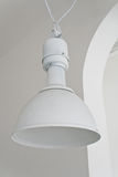 White ceiling lamp Stock Image