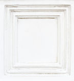 White cement frame Royalty Free Stock Photo