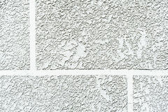 White cement  mortar wall texture Stock Image
