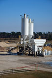 White Cement Plant Royalty Free Stock Image