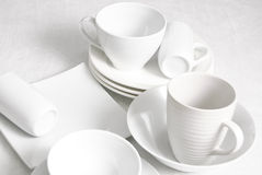 White ceramic Royalty Free Stock Photography
