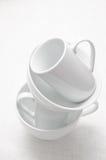 White ceramic Stock Photo