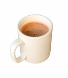 White ceramic coffee mug. Isolated on a white Stock Image