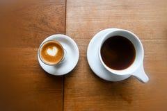 White Ceramic Mug With Coffee Stock Photography