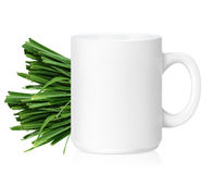 White ceramic mug Stock Photos
