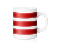 White ceramic mug Royalty Free Stock Photo
