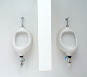 White ceramic sanitary ware Royalty Free Stock Photo