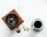 White Ceramic Tea Cup Stock Photos