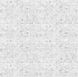 White ceramic tile bathroom wall background Stock Images