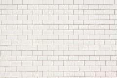 White ceramic tile wall Stock Photos