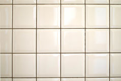 White Ceramic Tile Bathroom Wall Background Stock Images Image