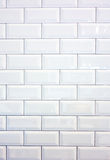 White ceramic tile wall