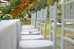 White chair Stock Photos