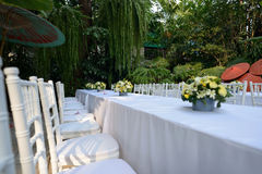 White chair Royalty Free Stock Photos