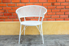 White chair Royalty Free Stock Images