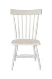 White chair isolated Stock Image