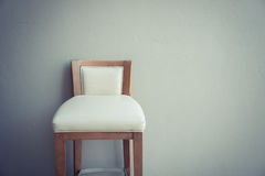 white chair vintage in the living room , modern design interior Stock Photography
