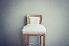 White chair vintage in the living room , modern design interior Royalty Free Stock Images