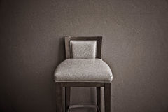 White chair vintage in the living room , modern design interior Stock Photos