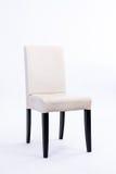 White chair on white background Stock Photos