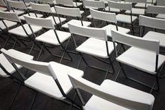 White chairs Stock Image