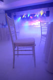 White chairs Stock Images