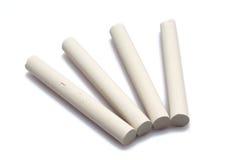 White chalk Stock Images