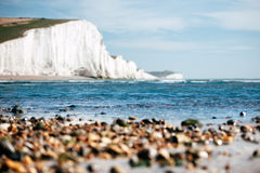 White Chalk Cliffs Royalty Free Stock Image