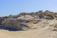 White chalk cliffs Stock Photos