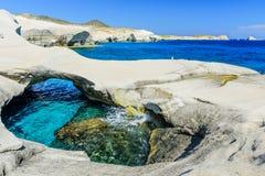 White chalk cliffs Royalty Free Stock Photos