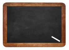 A white chalk on Empty Chalk board Background/Blank.