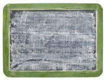 White chalk texture on blackboard Stock Photography