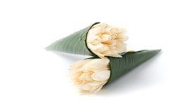 White Champaka flower   Royalty Free Stock Photography